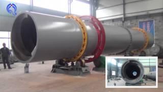 Sawdust dryer tumble dryer  ndustrial Rotary Dryer  ndustrial Rotary Drum Dryer drying equipment