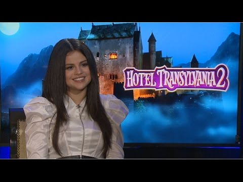 HOTEL TRANSYLVANIA  2 - Selena Gomez & Genndy Tartakovsky Interview