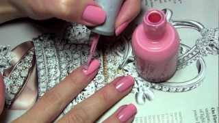 видео Маникюр в розовых тонах