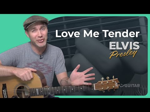 How to play Love Me Tender by Elvis Presley (Guitar Lesson SB-405)