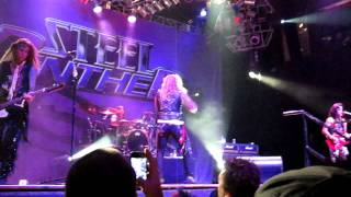 Steel Panther - Supersonic Sex Machine, Las Vegas, House of the Blues, opening song, October 2011