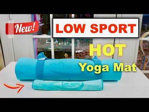 😍   LOW SPORT Hot Yoga Mat Set - Review   ✅