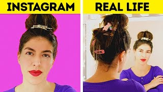 Instagram Vs. Real Life || Funny Fails