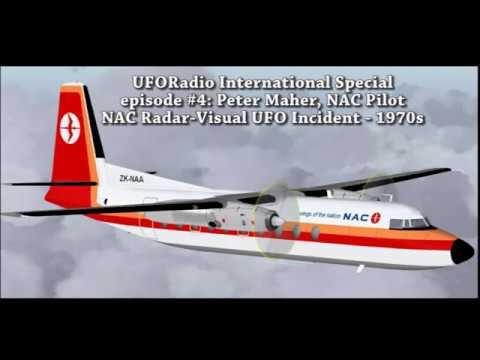 UFORadio-International Special: ep #4: NAC Radar-Visual UFO Incident - 1970s: Peter Maher