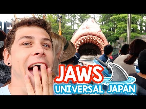 Riding JAWS AGAIN! | Universal Studios Japan