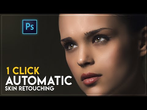FASTEST 1 Click Automatic Skin Retouching Actions Free In Photoshop CC 2018/2019