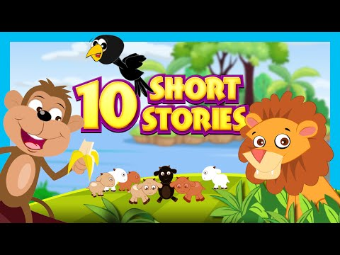 Short Stories For Kids  English Story Collection  10 Short Stories For Children