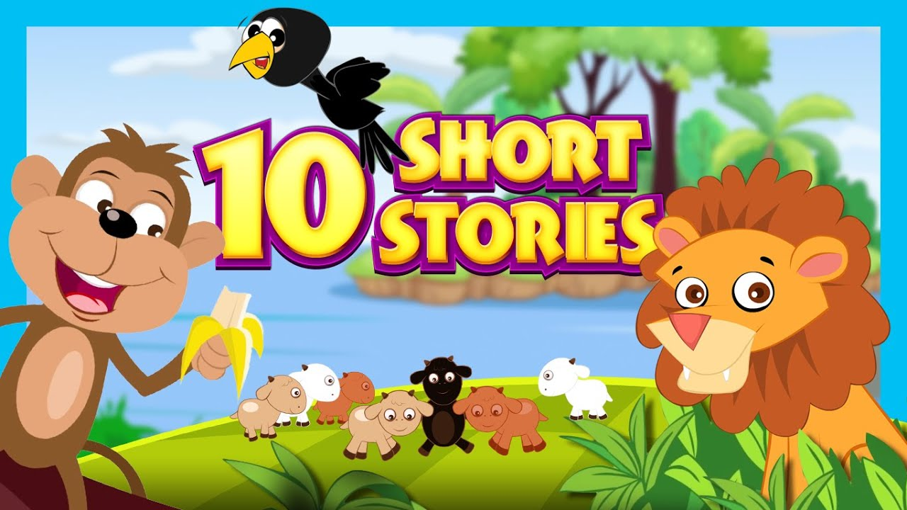 Worksheets Image Of Short Story For Kid short stories for kids english story collection 10 children youtube