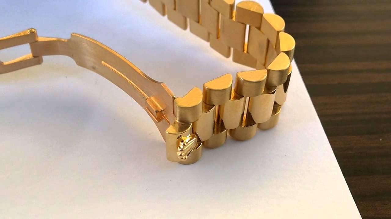 Rolex Day,Date President and Bracelet Stretch