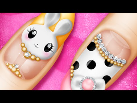 Makeover salon nail art princess nail youtube prinsesfo Gallery