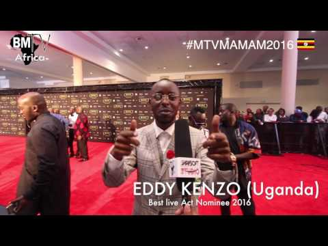 Interviews: EDDY KENZO ( Uganda) Best Live Act Nominee MTV MAMAs 2016