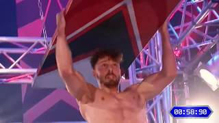 Ninja Warrior Switzerland 2018 (stage 4/5 finale) Dominique Karlin
