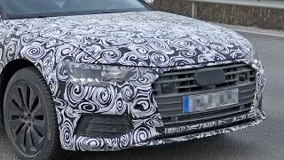 2018 Audi A6 Spy Shots