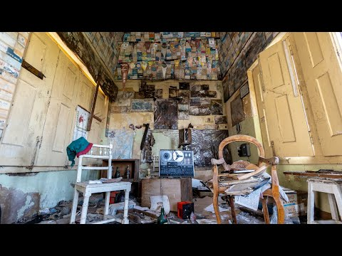 Abandoned Mansion Of A Portuguese Radio Amateur *Found His Radio Room*
