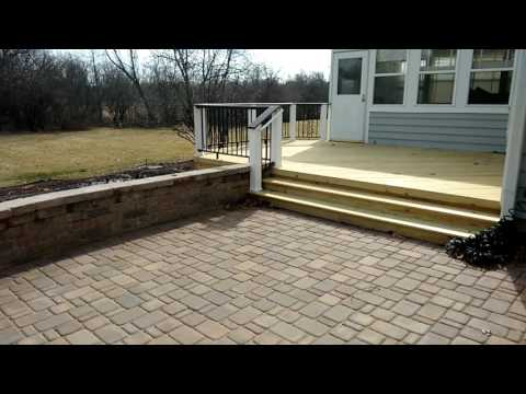 Deck and Belgard Patio Combination by Mundelein, IL deck builder