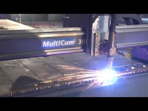 Видео Плазменная резка листового металла петербург