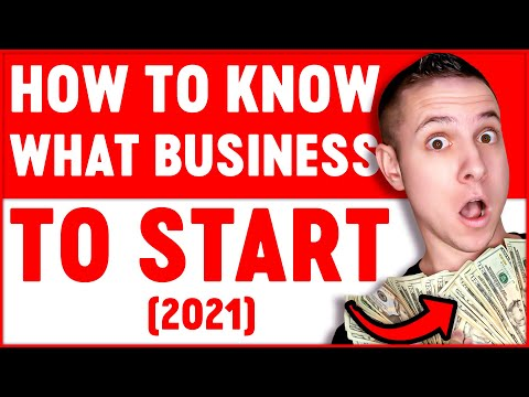 How To Know What Business To Start Millionaire Advice