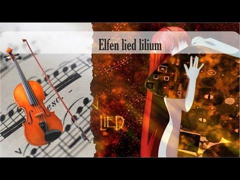 Partitura elfen lied lilium Violín
