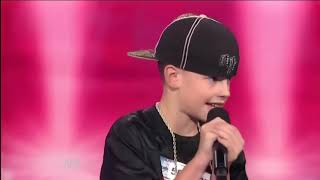 "White kid performs ""THOTIANA"" by Blueface on LIVE TV Americas Got Talent"