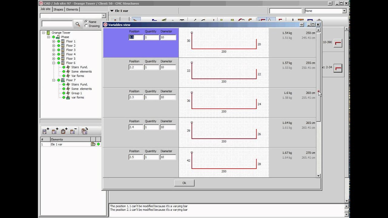 Graphico Pro - Rebar detailing software - Schnell Software
