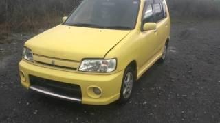 Видео-тест автомобиля Nissan Cube(Z10, 1998, CG13-DE, желтый)