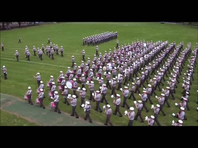 Royal Marines Band Service - Drone footage