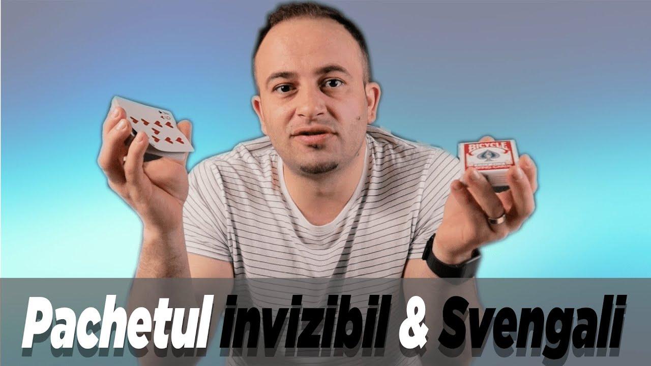 Pachetul invizibil & Svengali - Trucuri de Magie Explicate