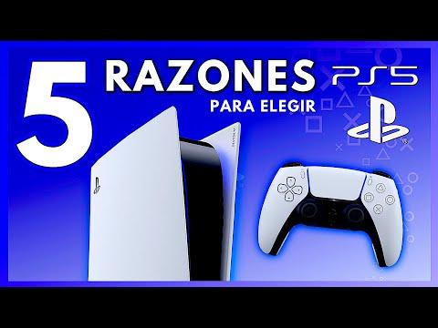 PS5: 5 RAZONES Para ELEGIR / COMPRAR una Playstation 5 - Jugamer