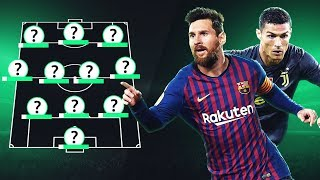 WORLD BEST XI in THEIR 30s BEST FOOTBALL TEAM AGED 30 and OVER - GOAL24