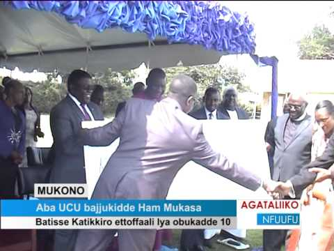 Aba UCU bajjukidde Ham Mukasa