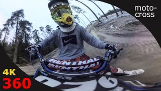 360 experience - Motocross by Nicklas Hovland on his Yamaha
