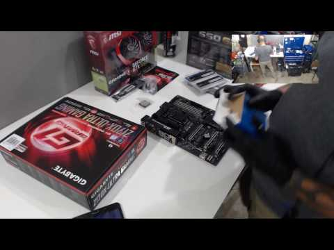 Live PC Build Part 1: Assemble PC on Bench and Test