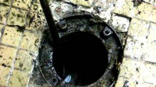 Clogged Floor Drain - Village Drive Edgewood Kentucky - Northern Kentucky Plumbers