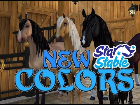 Buying ALL The New Lusitano Colors!🐎 - Star Stable Online