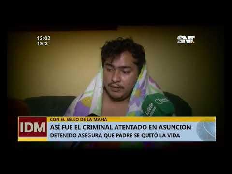 Atentado criminal en Asunción