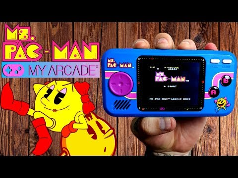 Ms.Pac-Man Pocket Player - My Arcade | The Nerd Lair