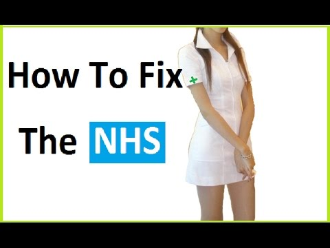 How to fix the NHS - take 1