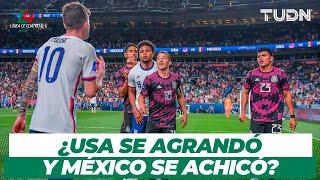 ¿USA se CRECIÓ o México se ACHICÓ en le final de CONCACAF Nations League?   TUDN