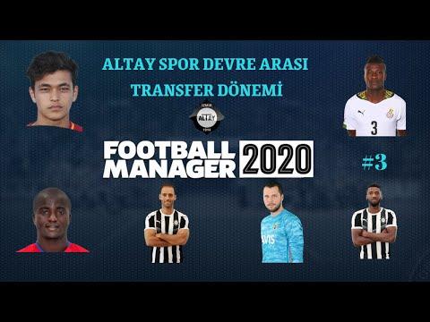 Football Manager 2020 Altay Kariyeri #3 | Sıfır Bütçe İle Transfer Dönemi