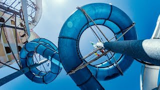 Black Tunnel Water Slide | Le Vele Acquapark