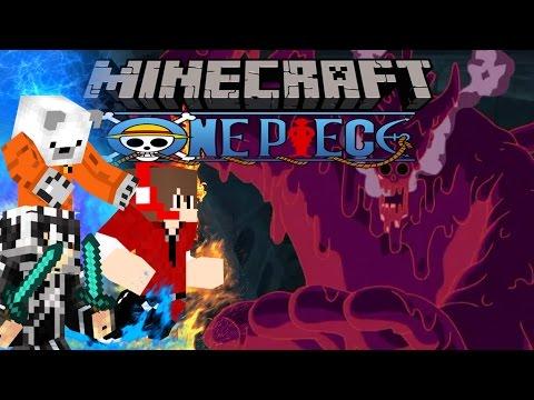 Minecraft วันพีช Lucky Block Colosseum Mobs Fight มาเจลแลน Magellan