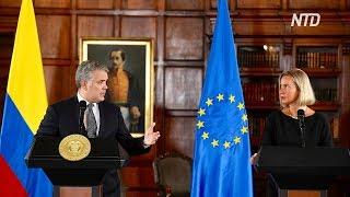 ЕС даст Колумбии 30 млн евро на помощь венесуэльским мигрантам