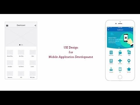 Ux Design For Mobile Application Development Youtube