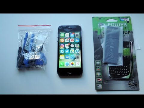Как я убил свой iPhone | Замена батареи iPhone 5s | 2017