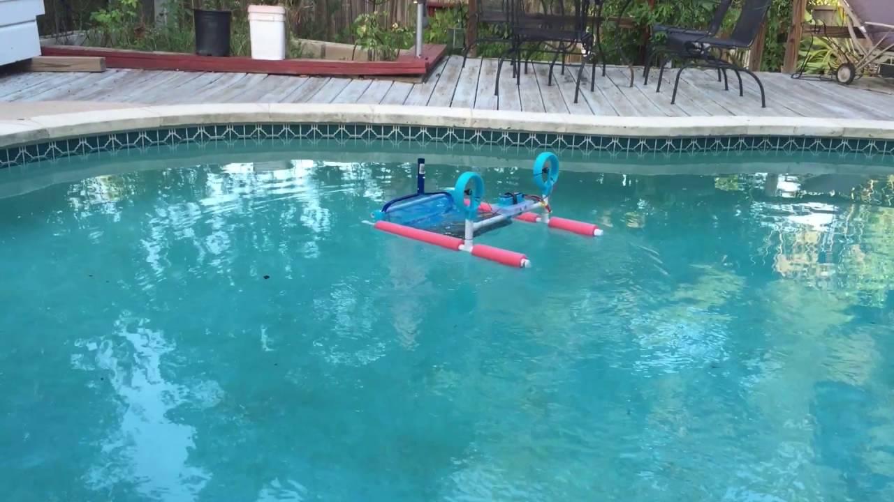 Diy Rc Pool Skimmer Youtube