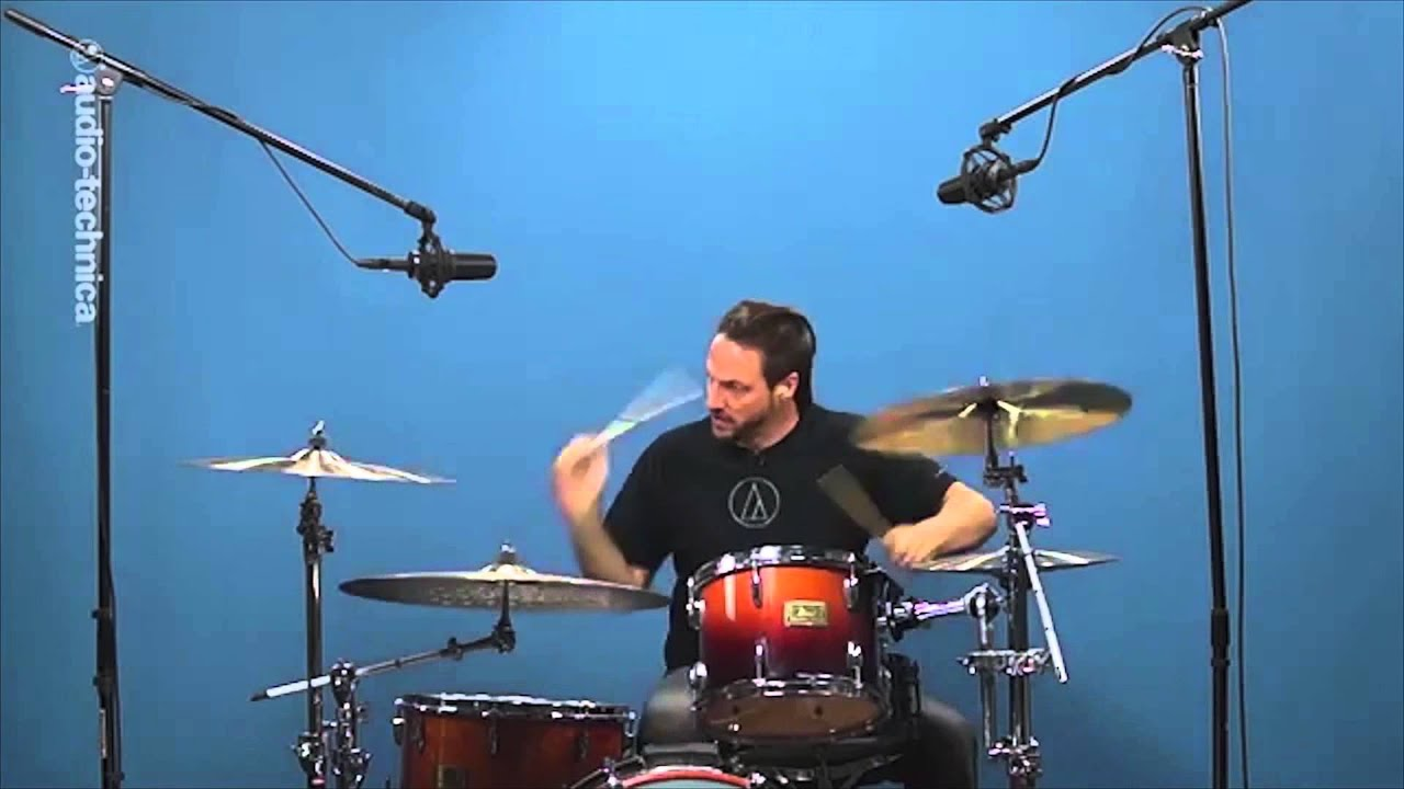 audio technica basic drum miking the overheads overview full compass youtube. Black Bedroom Furniture Sets. Home Design Ideas