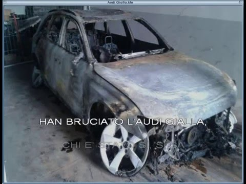 Han bruciato l'Audi gialla (883 cover karaoke)