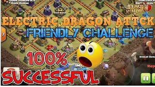 Electric Drogon attack | 100% FRIENDLY WAR base Challenge | GaminG WitH RoY