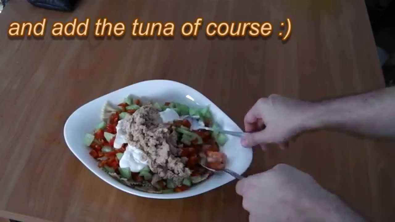 how to make healthy tuna pasta salad