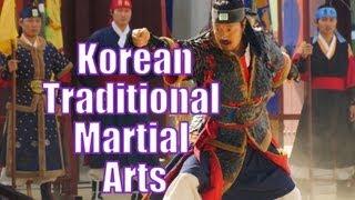 Korean Traditional Martial Arts Performance at Hwaseong Haenggung Palace - Suwon, South Korea